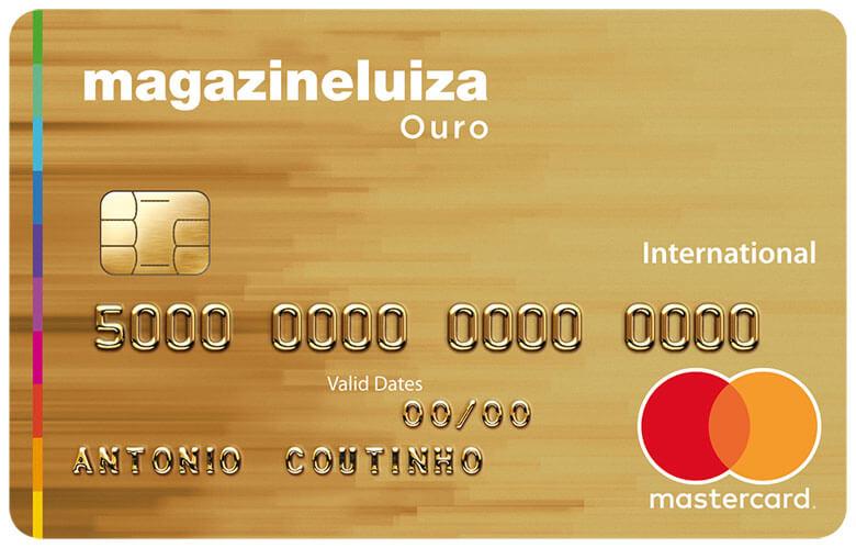 Divulgação: cartão Magazine Luiza
