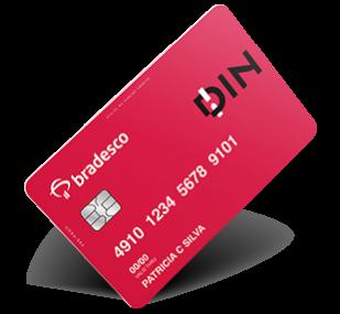cartão Bradesco Din