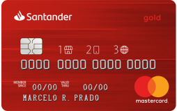 cartão de crédito Santander 1,2,3